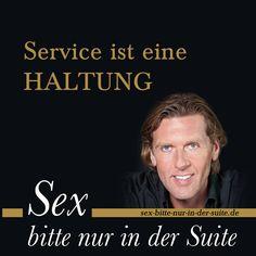 """Mit »Friss oder stirb!« lässt sich ein Fünf-Sterne-Gast nicht zufriedenstellen. #Service ist eine hochgradig persönliche Angelegenheit – ganz besonders in einem Hotel.  Lesen Sie mehr dazu in """"Sex bitte nur in der Suite – Aus dem Leben eines Grand Hoteliers"""". Eine Leseprobe finden Sie hier: http://sex-bitte-nur-in-der-suite.de"""