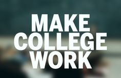 Easy steps to make College work.  #College http://www.stanfield.com/blog/2016/10/make-college-successful-experience/