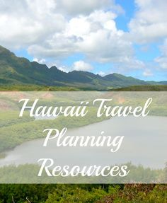 Travel planning resources for your next trip to Hawaii. We've included our favorite online sites, guides and products for the perfect Hawaiian vacation. Click through to start your Hawaii travel planning.