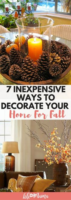 Decorating can get pricey! Luckily, we've rounded up some inexpensive ways to decorate your home that are still gorgeous.