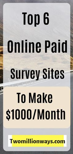 Income from survey is very popular and It's a great idea to work from home or outside and make money online from survey. You will find all the online surveys that pay cash. And also for students surveys to make money online Online Surveys For Money, Paid Surveys, Earn Money Online, Online Jobs, Online Earning, Earning Money, Win Money, Earn More Money, Earn Money From Home