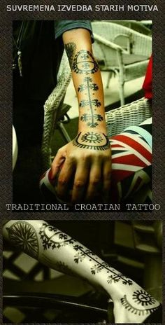 Tribal Tattoos, Hand Tattoos, Tatoos, Croatian Tattoo, Slavic Tattoo, S Tattoo, Symbolic Tattoos, Natural Cosmetics, Body Mods