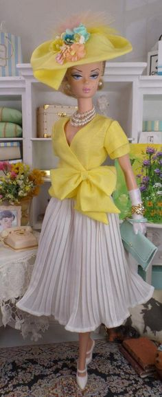 Vintages for Silkstone Barbie OOAK Fashion for 12 inch Dolls