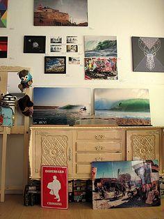 Surf Leça_Surf Shop_Art Gallery_Leça da Palmeira_Portugal. Artists: Tó Mané, Marita Forsss, João Pedro Rocha, Filipa Costa, Elena Grib. #surfarte #surfartgallery #surfarteemportugal #surfartshow #surfart #surfartists #leçadapalmeira #surfartspot  Photo: Filipa Costa  Please do not remove artist´s name. Copyright.
