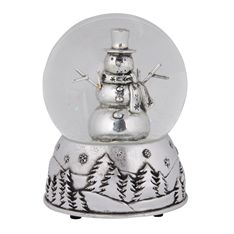 Giving a meaningful gift this season has never been easier with this unique silver snowman, which actually plays music too. It's an ornate piece that can also be placed on display for family and friends to admire and enjoy.