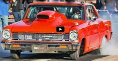 Nitrous BB Chevy Nova Honey Badger | Drag Racing