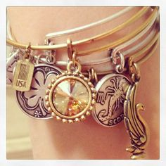 Love it! #charmedarms ALEX AND ANI