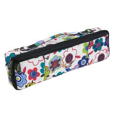 Tom and Will Flowers Design Flute Case Cover 33FCC
