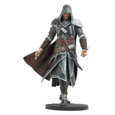 Assassins Creed Revelations 9 Inch PVC Action Figure Ezio Auditore Da Firenze Based on Ubisofts bestselling video game, this statue depicts Ezio in all his The Assassin, Assassins Creed Series, Modern Assassin, All Assassin's Creed, Assesin Creed, Armadura Cosplay, Action Figures, Character Concept, Stars