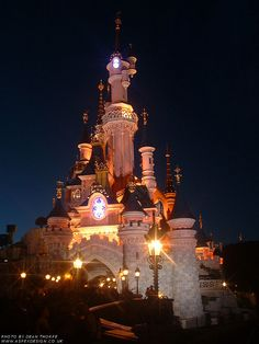 Disneyland Paris at Night Click here to save big on hotels and trips