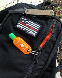 """COMMUNITY FEATURE .  @knifelife4ever rocking the Battalion 12 Hour Bag.  Keep a look out for a post about this bag going up on the blog tomorrow  . . Keep tagging #RecycledFirefighter and #RecycledFirefighterEDC for a chance to be reposted in our """"community features"""". . . . . #everydaycarry #edcgear #pocketdump #handdump#knifelife #knifecommunity #edcommunity #tacticalgear #usamade #americanmade #usa #repurposed #tacticallife #firefighter #knivesdaily #knivesofig #tacticallife #2a…"""