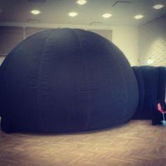 Så er det miniplanetariet tid igen #planetarium #Kroppedal