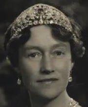 Tiara Mania: Sapphire & Diamond Tiara worn by Grand Duchess Charlotte of Luxembourg