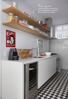 5 dicas para decorar sua cozinha pequena - Devemos dar-lhe atenção e deixa-las mais funcionais, atraentes e confortáveis. Forma Expressa