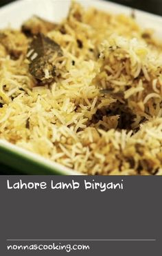 "Lahore lamb biryani | Here is a wonderful lamb biryani that is fairly simple to prepare. As biryanis are served on special occasions, this recipe makes a somewhat larger quantity than do most in this book. Persian prunes, which are black in colour and sweet and sour in taste, are often added to biryanis for extra flavour. They are sold in South Asian shops as Persian prunes or ""aloo bukhara"". If you find them and wish to add them, remember that they have a hard stone, so be careful whe Vegetable Dishes, Vegetable Recipes, Dishes Recipes, Asian Recipes, Swede Recipes, Prune Cake, Saffron Recipes"