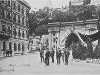 1800-as évek vége, Lánchíd tér, 1. kerület