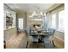 one of my favorite dining rooms by Candice Olsen