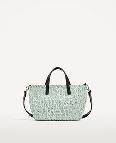 Image 2 of BRAIDED MINI TOTE BAG from Zara