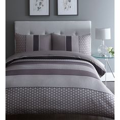 Home Collection Purple 'Adelle' jacquard bedding- at Debenhams.com