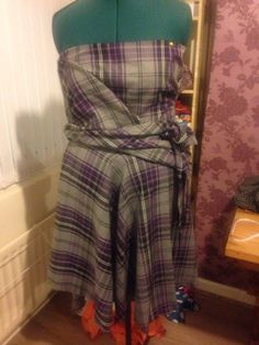 A new dress I'm working on.. If only I could just click my fingers and it was done!!