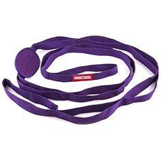 Peace Yoga  Durable 7ft Cotton Yoga Stretching Exercise Strap Band with Multiple Grip Loops  Purple -- Click on the image for additional details.(This is an Amazon affiliate link and I receive a commission for the sales)