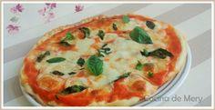 Me encanta conocer recetas de otro países y hace unas semanas vi un programa de Canal Cocina sobre comidas del Mundo, ese día le tocaba a Italia en Nápoles (donde inventaron la pizza) y como no la …