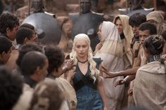 Game of Thrones Fashion Recap: Crowd Surfing in a Harness