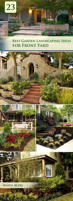 new fabulous landscape designs and ideas to boost your home's   #garden #landscaping #frontyard #homedecor