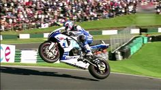 Watch these Pros go at it !! This clip is of some of the action from the 2013 British Superbikes meeting at Cadwell Park. Both the Superbikes and the suppo