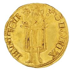 Gold florin, Florence (Italy), 1250 - 1400. 1954.237.374