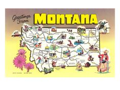 Greetings from Montana Posters at AllPosters.com