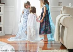No-Sew ELSA CAPE (from Frozen)…a 'Do-It-Together' Project   Make It and Love It