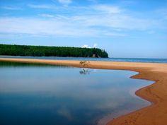 U.P of Michigan on Lake Superior