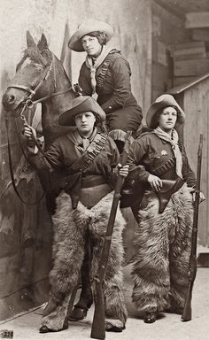 watch out ropers, roughriders 'ranglers and rustlers ... the 'girls' are back in town! Photo from the 'lovedaylemon' collection via Flickr