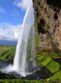 Seljalandsfoss, Iceland #travel #awesome #places Visit www.hot-lyts.com to see more background images