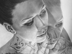 Kit King, Fine Artist - DICHOTOMIZE - Portrait of the Artist