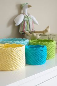 ...Handy Crafter...: Nest of Nesting Baskets