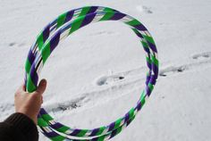 Buzz Lightyear Color Scheme Collapsible Hula Hoop #hoop #hulahoop #buzzlightyear #toystory #purple #green #silver #tape #dance #rave #music #musicfestival #travel #love