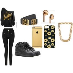 """Golden Godess"" by nneuphtalie on Polyvore"