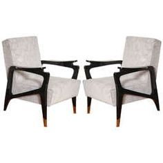 Pair of Chic Armchairs
