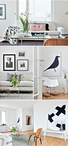 Scandinavian design appartment
