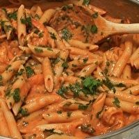 Penne with Pink Vodka Sauce by Jacqueline