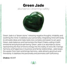 Jade for health and wealth