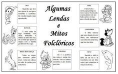 ATIVIDADES DO FOLCLORE BRASILEIRO, cruzadinhas, desenhos e muito mais | Facil Decore