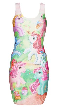 My little pony bodycon dress