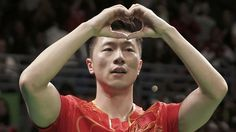 Ma Long wins gold in all-China affair