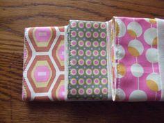 Pink Retro Burp Cloth by EandLuLu on Etsy,