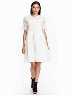 8e9d4cb2b9 Beate Short Dress - Object Collectors Item - Egret - Kjoler - Tøj - Kvinde -