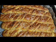 Τυροστριφταρια της Γκόλφως αφράτα με την πιο εύκολη ζύμη! Μια εύκολη συνταγή για στριφτάρια ζύμης γεμιστά με τυρί ή ότι άλλο θέλετε,ιδανική για σχολικό κολατσιό Dessert Recipes, Desserts, Greek Recipes, Banana Bread, Homemade, Food, Postres, Deserts, Hoods