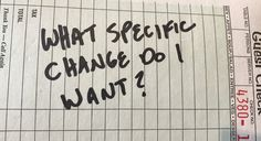 What specific change do I want? by Mike Acton -  Unless Im just speaking to hear the sound of my own voice or to pass the time away I am saying something for some purpose. That purpose can either be implied or explicit. Ive found its a lot more effective to be honest with myself and others and explicit about what that purpose is. Asking What specific change do I want? gives me a moment to reflect on thatpurpose.  Nearly always I am trying to solve some problem for myself or someone else. But…